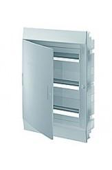 Mistral41F шкаф встроенный, 54 (3х18) модулей, непрозрачная дверь