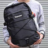 Рюкзак Supreme Черный 25л Реплика отличного качества, фото 1