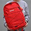 Рюкзак Supreme Красный 25л Реплика отличного качества