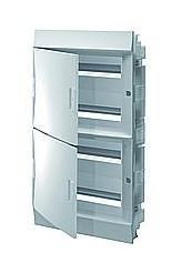 Mistral41F шкаф встроенный, 72 (4х18) модулей, непрозрачная дверь