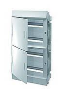 Mistral41F шафа вбудований, 72 (4х18) модулів, непрозора двері, фото 1