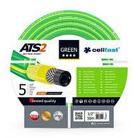 "Шланг для полива 1/2"" 50 м. Cellfast Green ATS2 (15-101)  , фото 1"