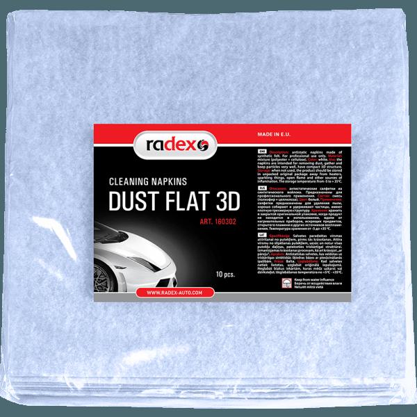Липкая пылеудаляющая салфетка Radex Dust Flat 3D 20х20см