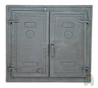 Чугунные печные дверцы Н1503 (685x725), фото 1