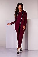 Спортивний костюм бордового кольору, фото 1
