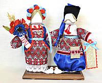 Кукла-мотанка КЛЮЙ Неразлучники Мокрина и Прохор 25 см Разноцветная K0006NMP, КОД: 182767