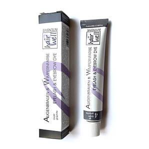 Фарба для вій і брів HairWell графіт