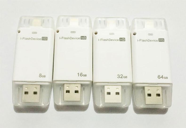 USB флешка FlashDrive for iPhone/iPod/iPad 8 ГБ