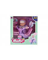 Кукла Пупс с велосипедом для катания