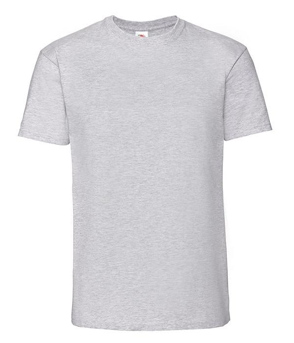 Мужская футболка плотная из хлопка XL, 94 Серо-Лиловый