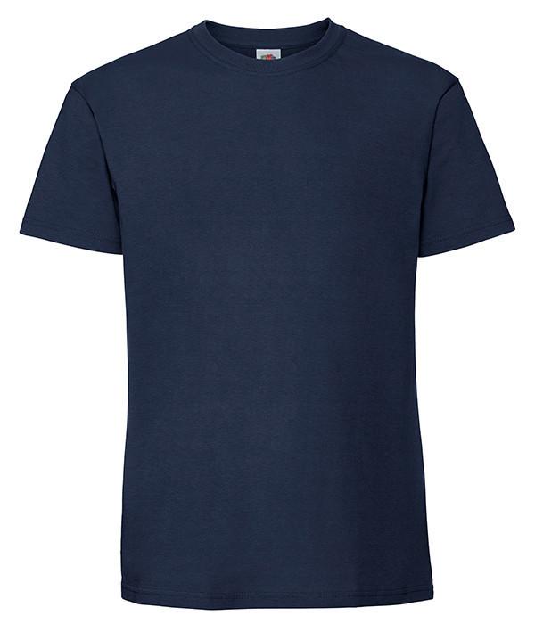 Мужская футболка плотная из хлопка 56, Глубокий Темно-Синий