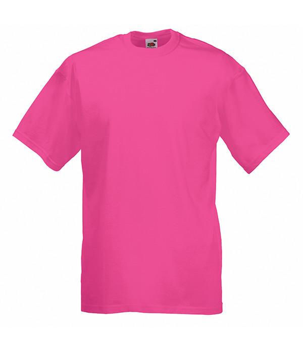 Мужская футболка плотная из хлопка 2XL, 57 Малиновый