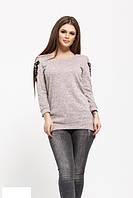 Женский свитер   цвета пудры  от YuLiYa Chumachenkо, фото 1