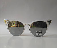 Солнцезащитные очки Fendi с зеркальным напылением