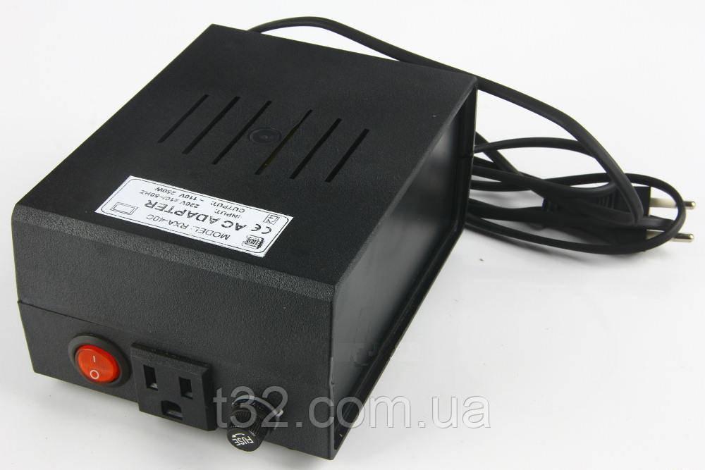 Преобразователь напряжения 220 вольт в 110 вольт. 250 Вт.