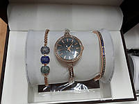 Женские часы Аnne Klein цветные камни (Золото)