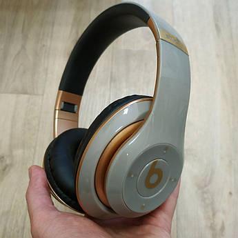 Накладні бездротові Bluetooth-навушники Beats Studio 3 by Dr. Dre Wireless сірі