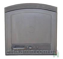 Сплошные печные дверцы Н1505 (500x490)