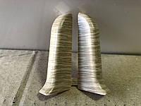 Торцевые для плинтуса  Идеал Комфорт 55мм!!Дуб северный 213, фото 1
