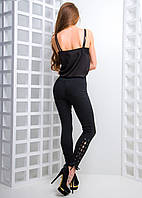 Облегающие джинсы со шнуровкой, фото 1