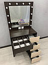 Гримерный столик с открывающимся зеркалом, фото 3