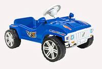 Машинка педальная для катания Орион Синяя