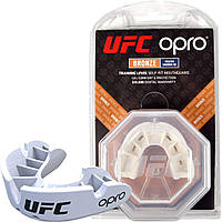 Капа OPRO UFC Junior Bronze Белый