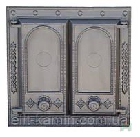 Печные дверцы Н1508 (470x475)