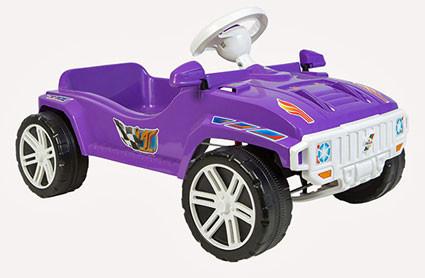 Машинка педальная для катания Орион Фиолетовая
