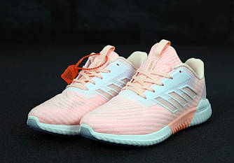 Женские кроссовки Adidas Climacool  Оrange(Реплика ААА+)