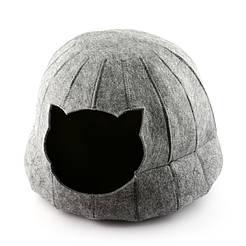 Digitalwool Домик для кошки Полусфера без подушки ( Диаметр основания  42 см Высота 28 см) без подушки