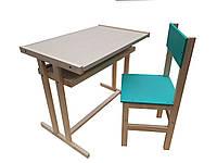Детский стол и стул, парта.