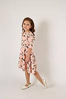 Плаття Моналіза з рукавом 3/4 і асиметричним низом 6-10 років