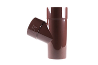 Водосточные системы пластиковые 130 мм. Тройник.
