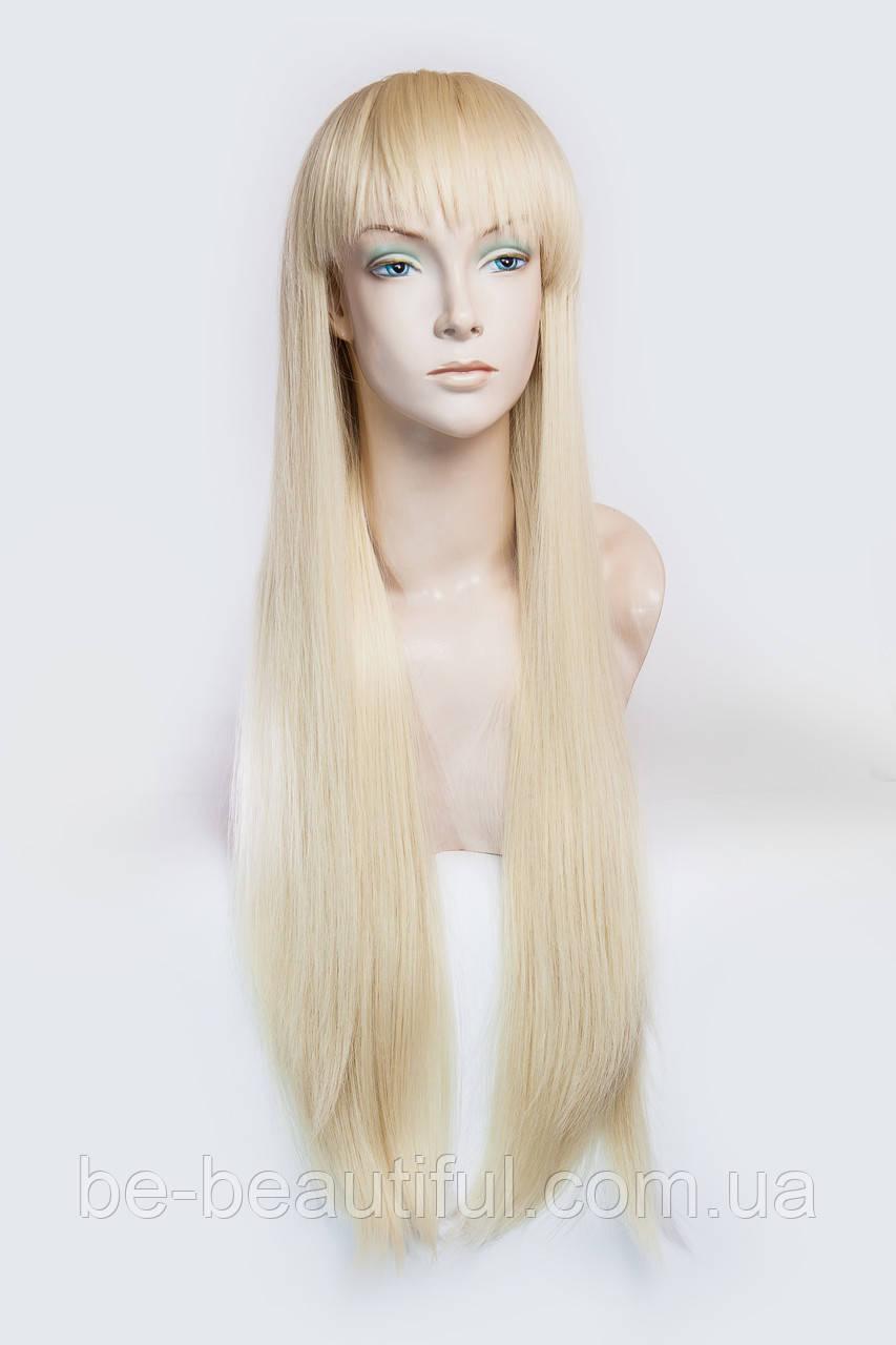 Парик из термоволокна №6,цвет классический блонд