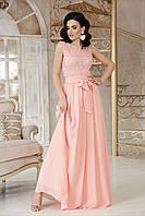 Персоковое платье для выпускного размер 42-48