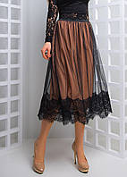 Элегантная юбка миди