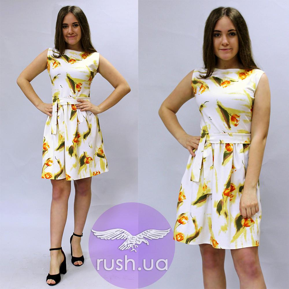 a12e3981160 Купить Красивое летнее платье с бантом в Николаеве от компании
