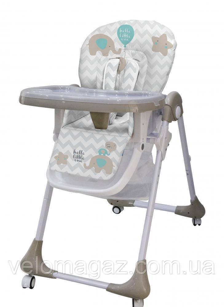 Дитячий стільчик-трансформер для годування M 3233 ELEPHANT BEIGE