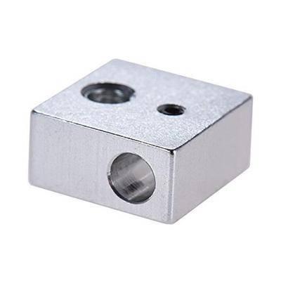 Алюминиевый нагревательный блок MK7/MK8 (hotend MK7/MK8/E3D), фото 2