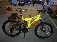 """Велосипед горный двухподвесный AZIMUT POWER 24"""", фото 1"""