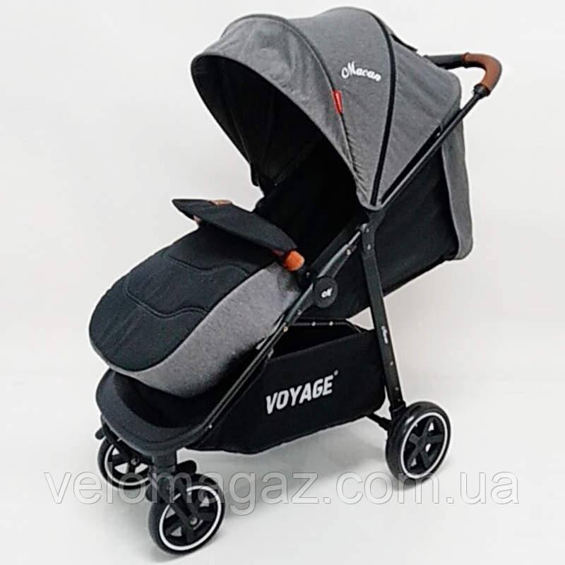 """Детская прогулочная коляска """"MACAN"""" T619F Grey"""