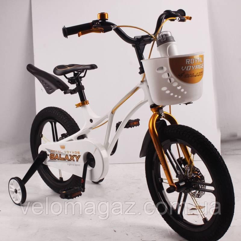 "Детский велосипед SIGMA GALAXY White 16"" магниевая рама (Magnesium)"