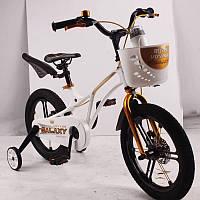 "Детский велосипед SIGMA GALAXY White 16"" магниевая рама (Magnesium), фото 1"
