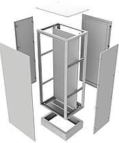 Перфорированная вертикальная стойка ПВС2200 (2шт), фото 3
