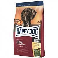 Корм для собак Happy Dog (Хэппи Дог)  Supreme Sensible - Afric для собак с аллергией и непереносимостью 12.5кг