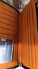 Кошелек мужской, портмоне Baellerry Leather SW009 Orange, фото 4