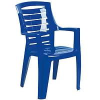 Кресло пластиковое «Рекс», синее