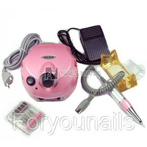 Фрезер для маникюра и педикюра Y.R.E. YFZ-07 35000 об/мин (розовый)