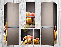 Дизайнерские наклейки на холодильник Арома
